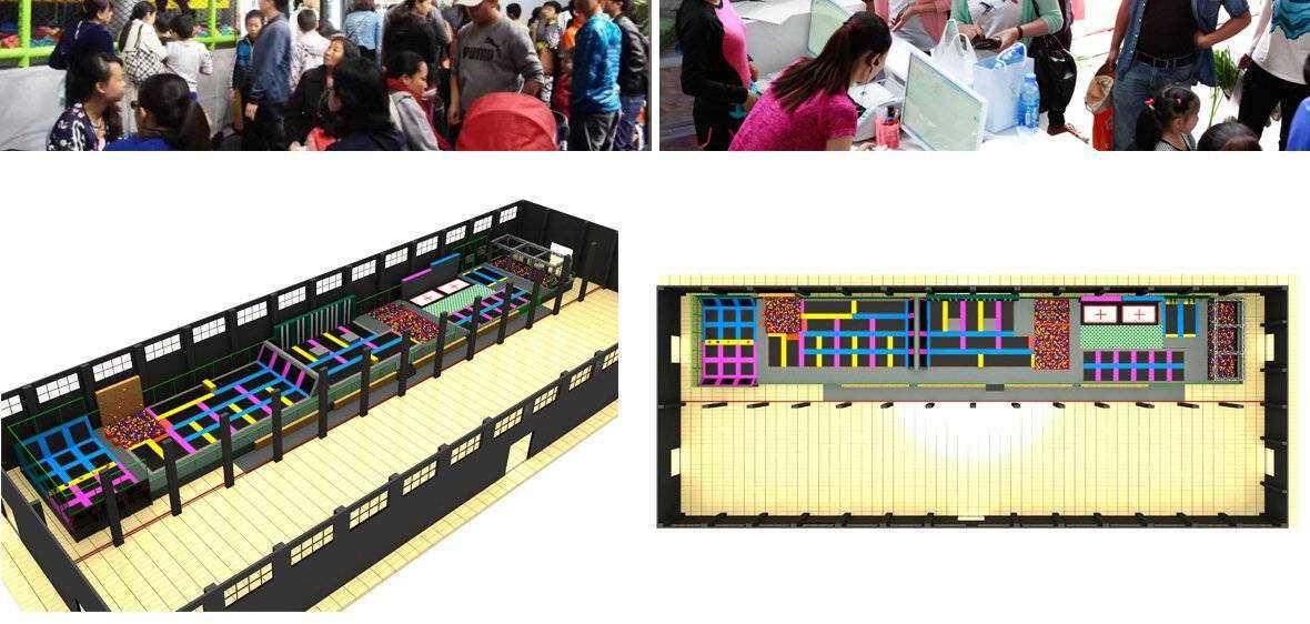口袋屋蹦床公园设计规划图