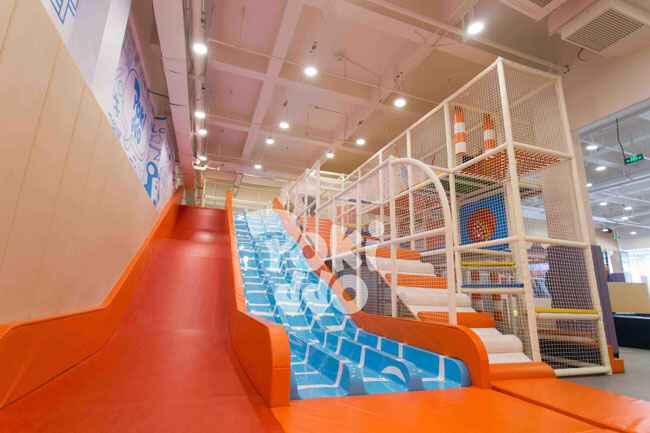 儿童乐园功能项目-超级魔鬼大滑梯