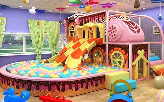 高端儿童乐园场馆装修方案设计