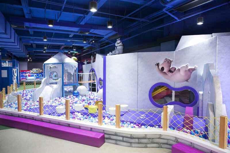 儿童乐园场馆装修风格