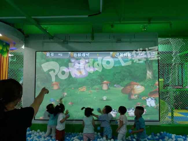 儿童乐园互动投影游戏