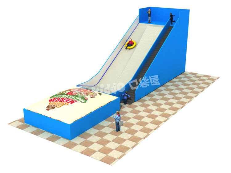 网红游乐设备新品旱雪滑梯