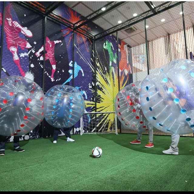 泡泡足球对抗碰碰球