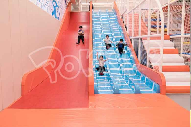 魔鬼滑梯,三道滑滑梯
