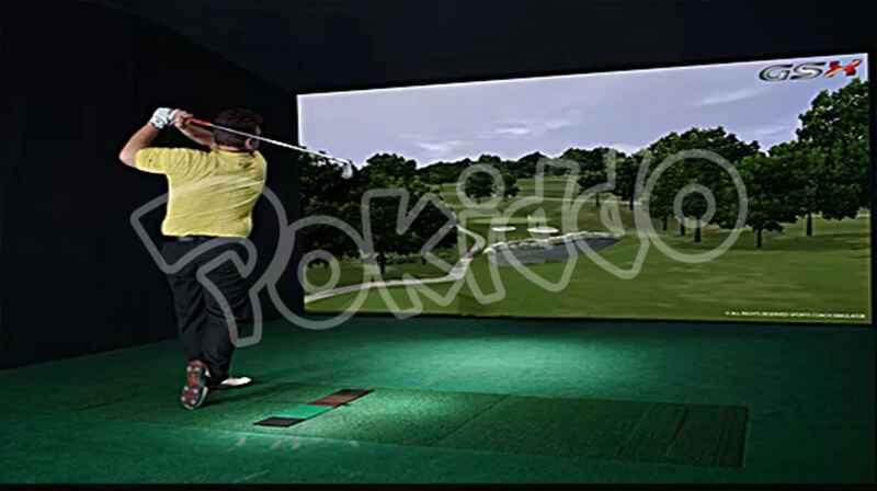 蹦床公园高尔夫