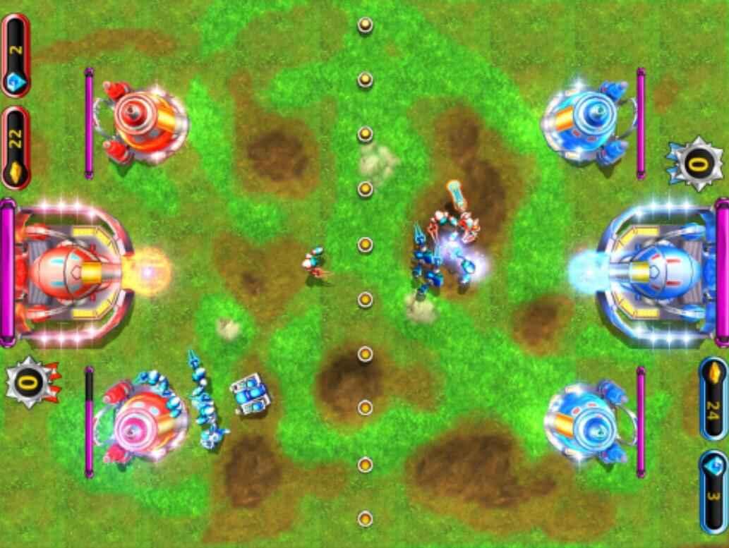 口袋屋互动投影红蓝对抗游戏