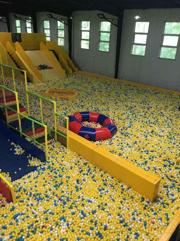 口袋屋百万海洋球池实物图展示