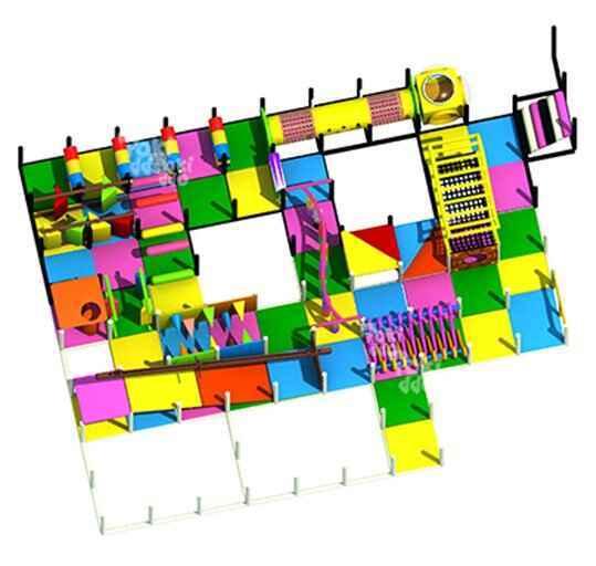 菲律宾弹力迷宫设计图