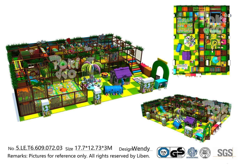 口袋屋哥伦比亚淘气堡乐园设计效果图