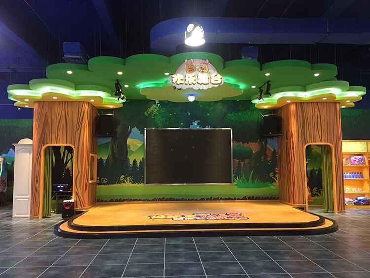 袋鼠王蹦床乐园欢乐舞台