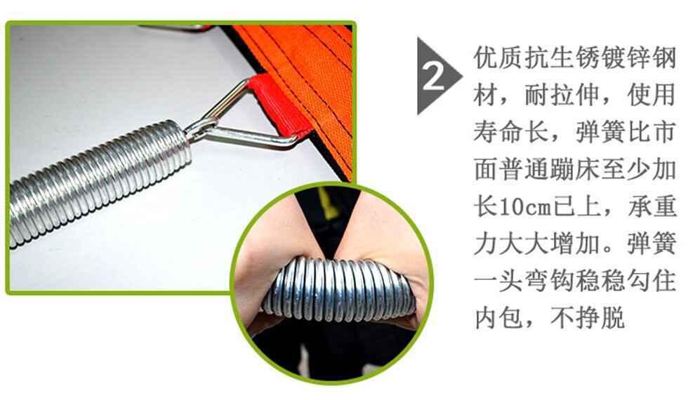 口袋屋蹦床弹簧优势对比