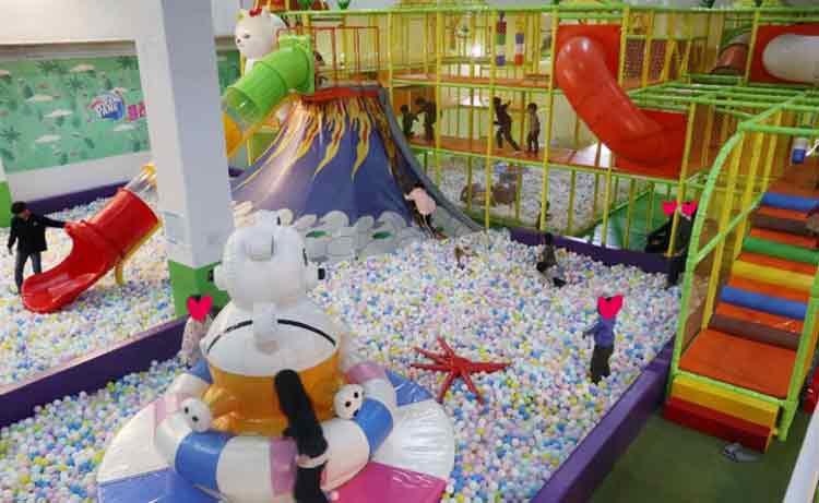 安徽舒城咔咔龙室内儿童乐园实景图.jpg