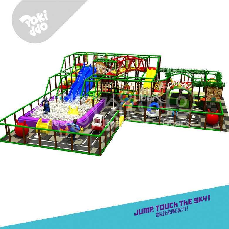 河南新乡室内儿童淘气堡设备-250平儿童乐园