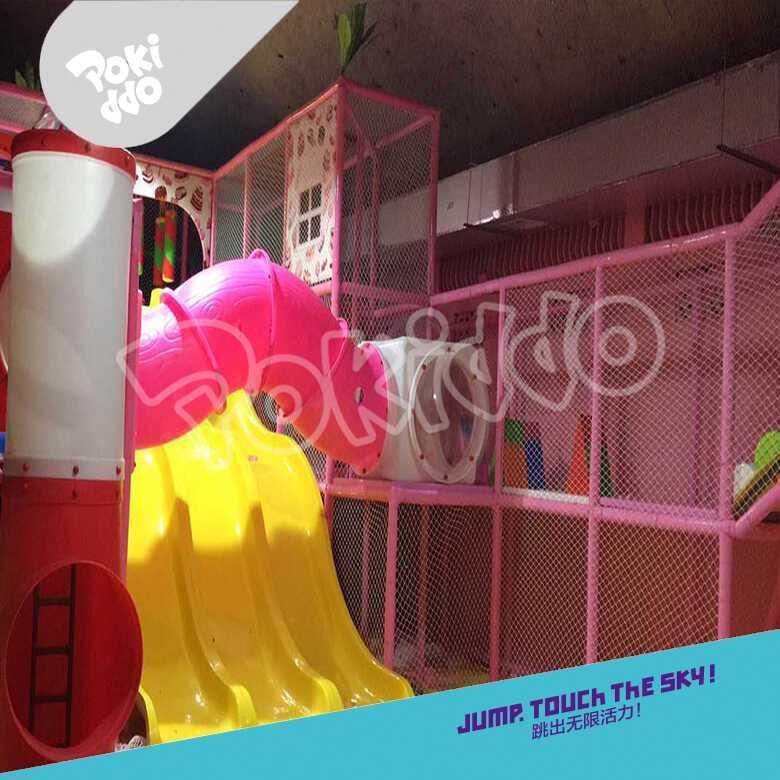 湖南娄底室内淘气堡儿童乐园设备