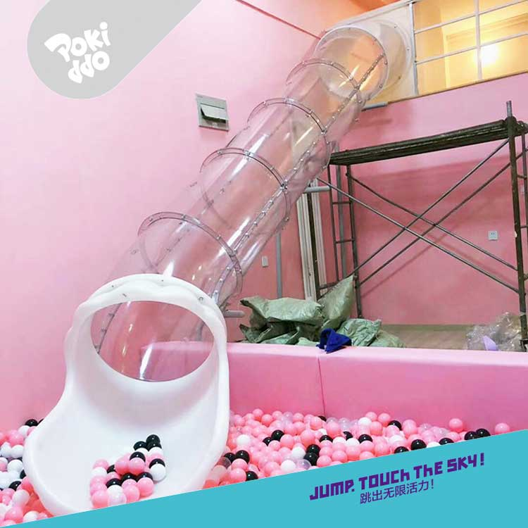 塑料拼接式滑桶