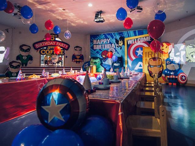 口袋屋蹦床公园生日派对:复仇者联盟守护世界,而我想守护你 - 蹦床厂家