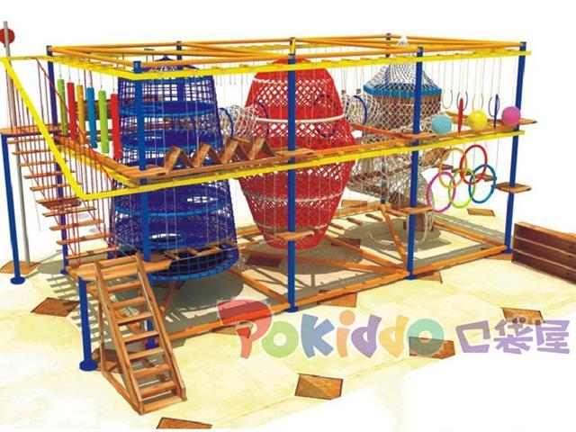 室内儿童拓展乐园设备,让孩子勇于发现未知的乐趣