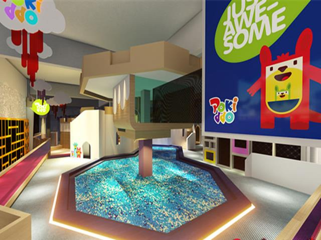 儿童乐园加盟哪家好?中国知名儿童乐园加盟品牌口袋屋活力空间