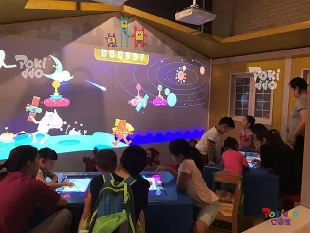 儿童乐园的互动投影设备为什么要选激光投影仪