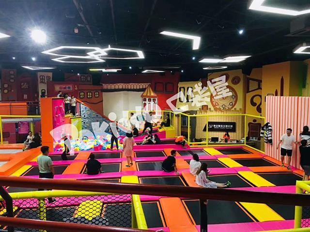 儿童乐园加盟品牌,口袋屋活力空间创业投资高回报率新选择!