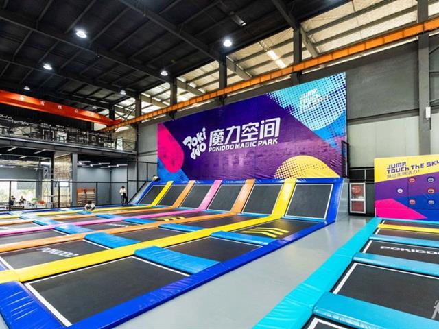 有哪些蹦床公园互动游戏,适合蹦床馆企业团建的活动?