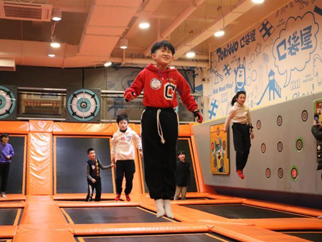 口袋屋蹦床公园儿童体适能运动课程对孩子的好处