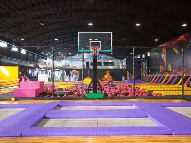 福清市NewSpace蹦床公园,网红抖音打卡新地标。—口袋屋蹦床公园场馆案例