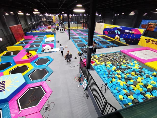 投资蹦床公园如何选择合适的场地,各类场馆选址的优劣势