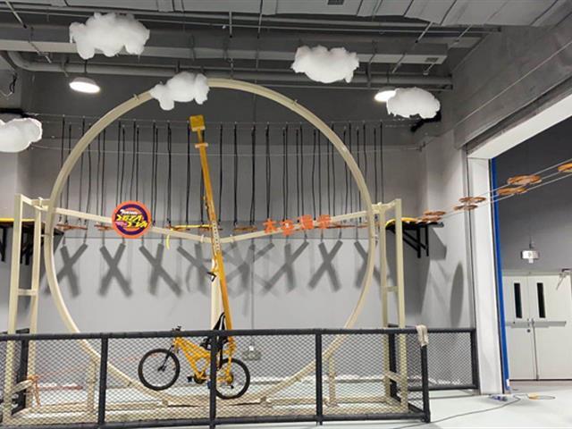 360°自行车,口袋屋运动工场新游乐设备