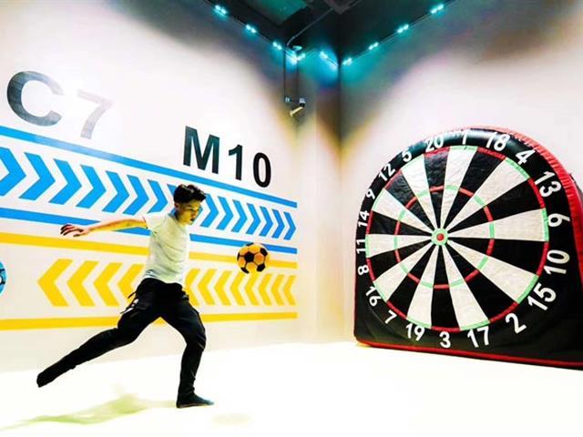 口袋屋运动乐园靶心足球,截然不同的娱乐互动项目