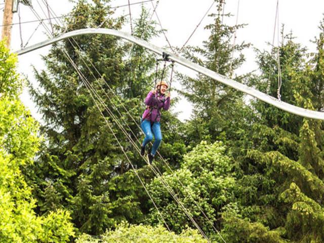 口袋屋游乐云霄飞车式滑索,垂直探险乐园新型运动娱乐设备