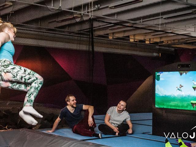 口袋屋游乐Valo Jump,室内乐园蹦床设备再升级,互动娱乐新项目
