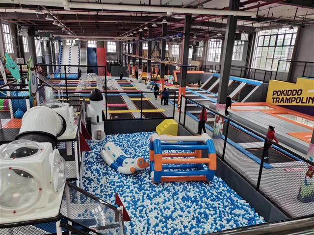 加盟后,如何从营销角度打造现代休闲娱乐蹦床公园?