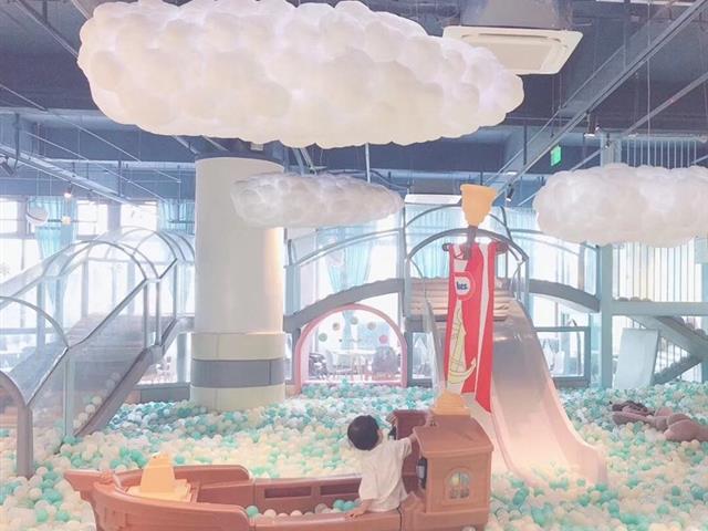 室内儿童乐园装修怎么才能与众不同?
